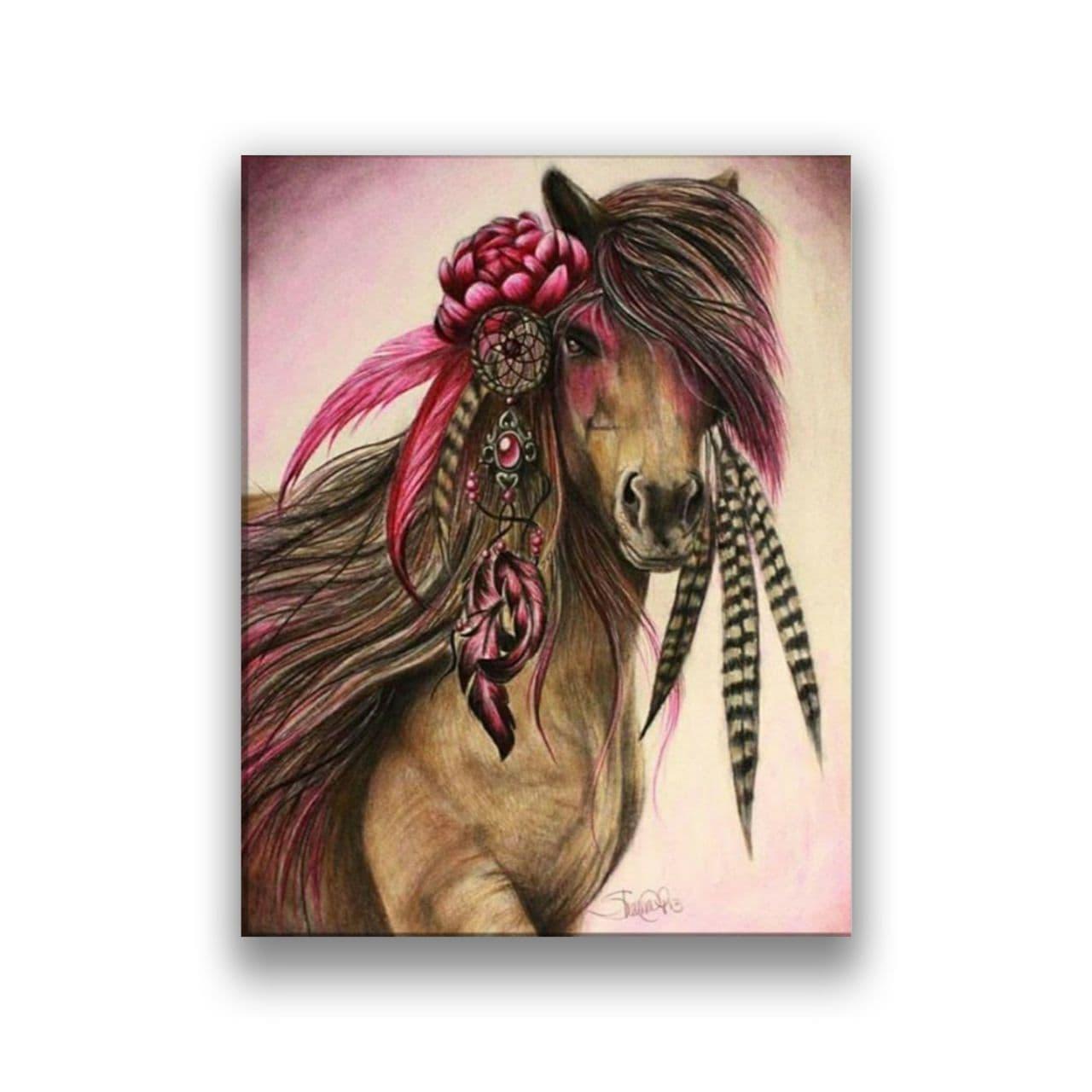 Rose Horse