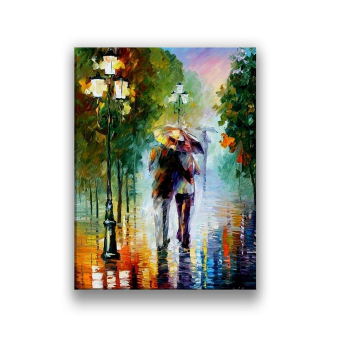 a couple walking in a park1