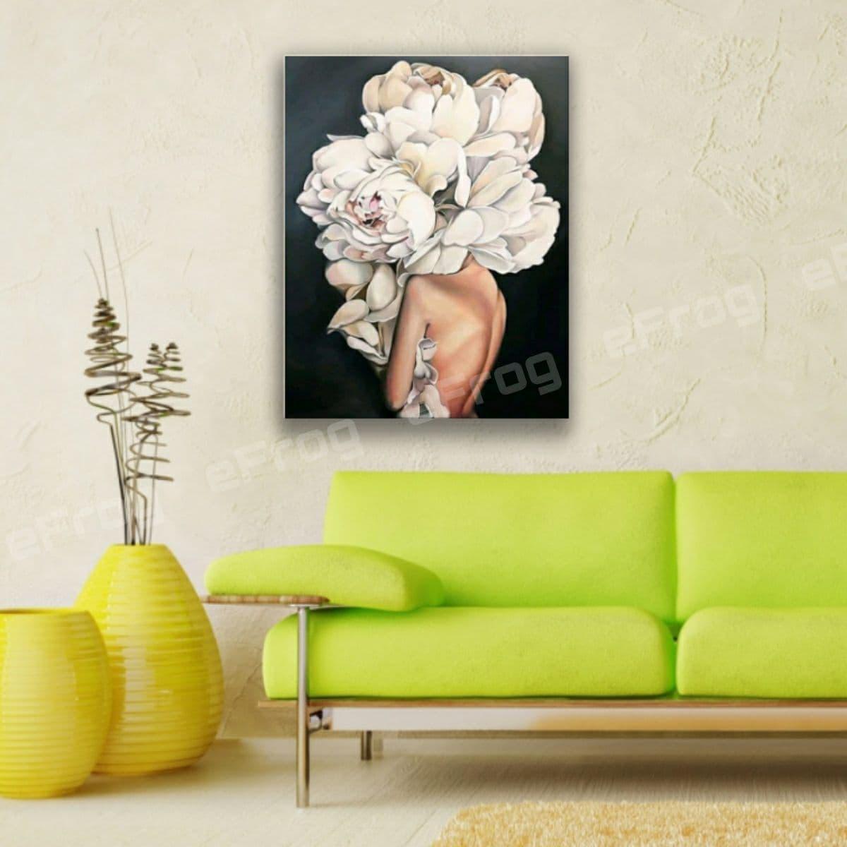 flowerhead woman1